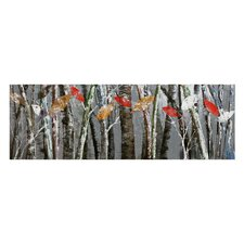 Bright Leaves Painting Print