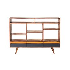 "Bliss 19.69"" Open Bookshelf with Drawers"