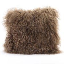 Lamb Fur Wool Throw Pillow (Set of 2)