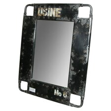Iron Distressed Mirror