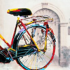 Cycle II Painting Print Art on Canvas