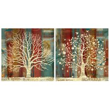 Season Wall Decor (Set of 2)