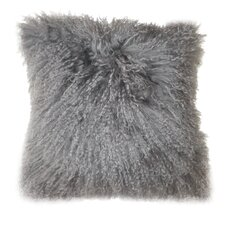 Lamb Faux Fur Wool Throw Pillow (Set of 2)