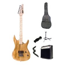 Natural Viper Electric Guitar Combo with Amplifier