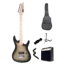 Silver Burst Viper Electric Guitar Combo with Amplifier