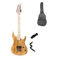 Natural Viper Electric Guitar