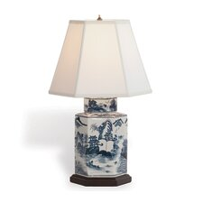 "Canton 23"" H Table Lamp with Empire Shade"