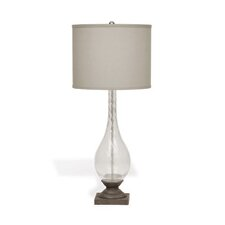 "Murano Seed 35"" H Table Lamp with Drum Shade"