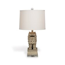 "Chow 29"" H Table Lamp with Empire Shade"