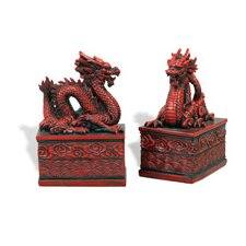 Dragon Bookends (Set of 2)