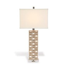 "Mizner Key 30"" H Table Lamp with Drum Shade"