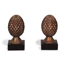 <strong>Port 68</strong> Pineapple Book Ends (Set of 2)