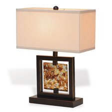 "Bainbridge 21"" H Table Lamp with Rectangle Shade"