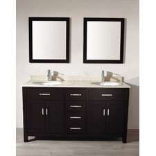 "<strong>Bauhaus Bath</strong> Celize 63"" Bathroom Vanity Set"