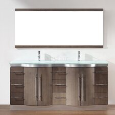 "Dinara 72"" Double Bathroom Vanity Set"
