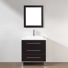 "<strong>Bauhaus Bath</strong> Kinsa 28"" Single Bathroom Vanity Set"