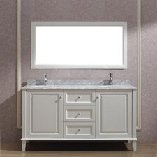 "Milly 63"" Double Bathroom Vanity Set"
