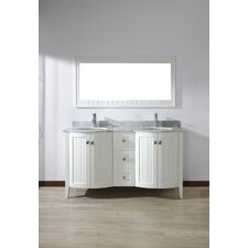 "Ridgeport 60"" Double Bathroom Vanity Set"