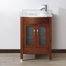 "<strong>Bauhaus Bath</strong> Alfa 24"" Single Bathroom Vanity Set"