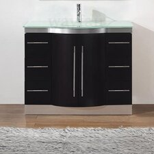 "Dinara 42"" Single Bathroom Vanity Set"