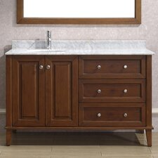 "<strong>Bauhaus Bath</strong> Milly 55"" Single Bathroom Vanity Set"