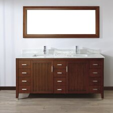 "<strong>Bauhaus Bath</strong> Jacchi 72"" Double Bathroom Vanity Set"