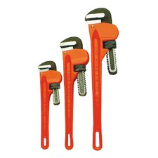 Pipe Wrench 3Pc Set