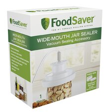 Wide-Mouth Vacuum Packaging Jar Sealer