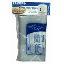 <strong>L'Equip</strong> Extra Bags for Flour Bagger (Set of 10)