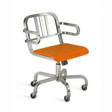 Nine-0 Swivel Office Chair with Arms