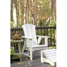 Carolina Preserves Adirondack Chair and Ottoman