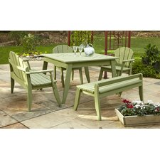 Plaza 5 Piece Dining Set