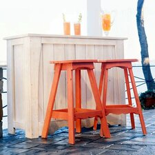Companion Bar Set w/ Backless Stools