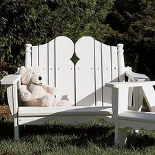 <strong>Uwharrie Chair</strong> Nantucket Kid's 2 Seater Adirondack Chair