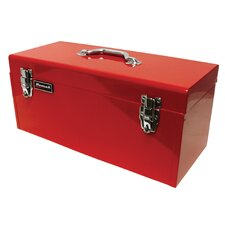 20 Red High Tool Box W/ Blk Metal Tray