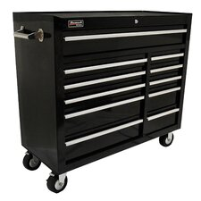 Professional 41'' Wide 11 Drawer Bottom Cabinet