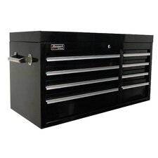 Professional 41'' Wide 8 Drawer Top Cabinet
