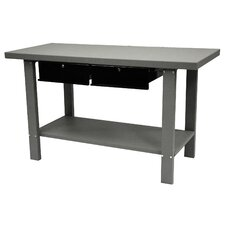 <strong>Homak</strong> 59 Indust Gray Workbench W/ 2 Drwrs