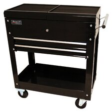 "Professional 27.88"" Wide 2 Drawer Service Cart"