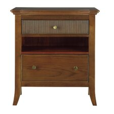 Hudson Street 2 Drawers Nightstand