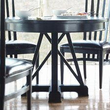 "Modern Craftsman 42"" Round Gathering Table"