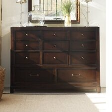 <strong>Stanley Furniture</strong> Modern Craftsman Elemental 11 Drawer Dressing Dresser