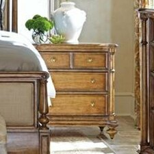 Arrondissement 3 Drawer Nightstand