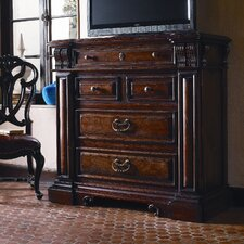 <strong>Stanley Furniture</strong> Costa Del Sol 4 Drawer Barcelona Stateroom Media Chest