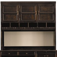 "Modern Craftsman Woodworkers 52.75"" H x 60.25"" W Hutch"
