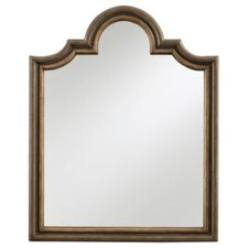 European Farmhouse Provencial Paint Vertical Mirror in Distressed Temps