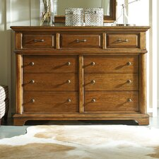 The Classic Portfolio Bungalow 9 Drawer Dressing Dresser