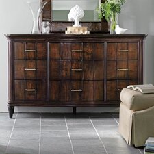 <strong>Stanley Furniture</strong> Avalon Heights Serpentine 9 Drawer Dresser
