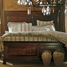 The Classic Portfolio Louis Philippe Panel Bed