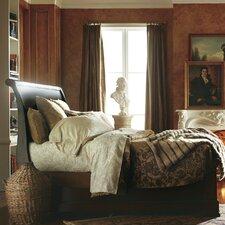 The Classic Portfolio Louis Philippe Sleigh Bed